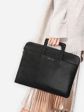 Classic Laptop Case, Black, hi-res