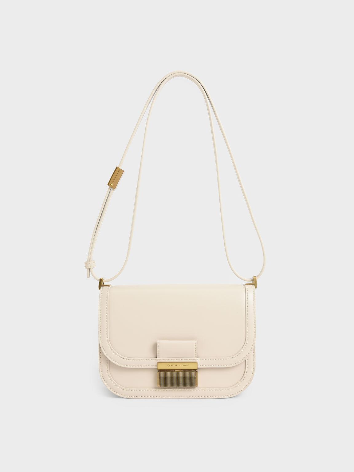 Charlot Crossbody Bag, Ivory, hi-res