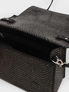 Bow Top Handle Bag, Multi, hi-res