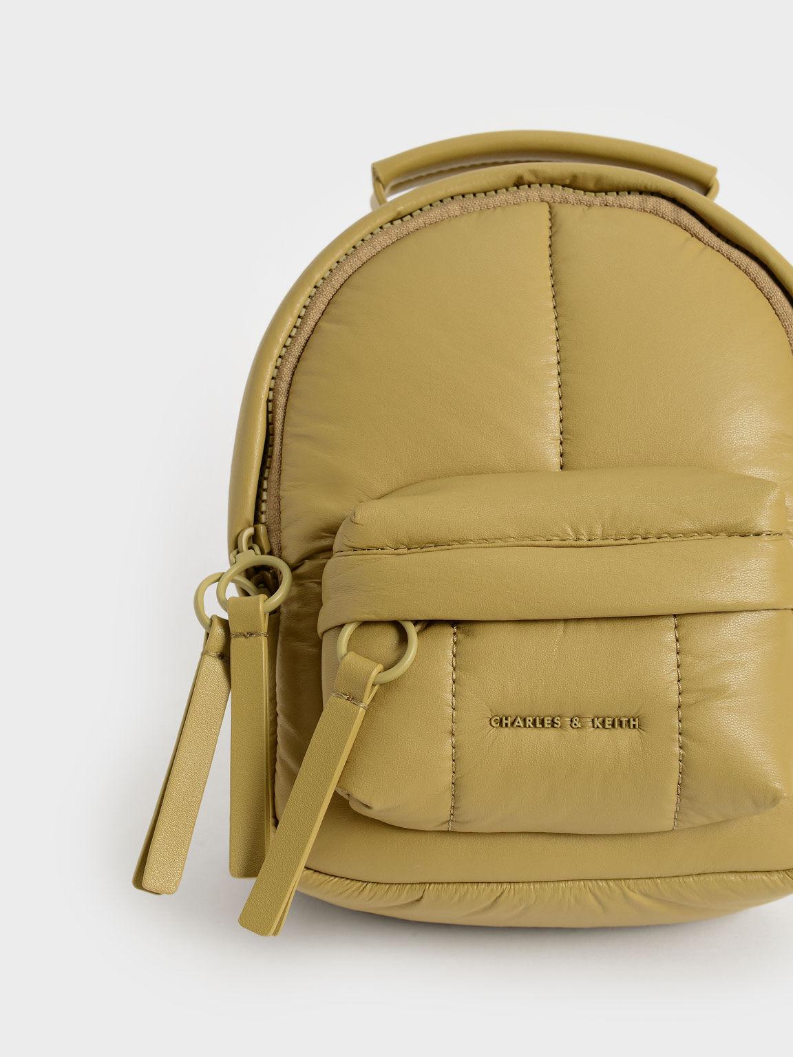 Puffy Backpack, Sand, hi-res