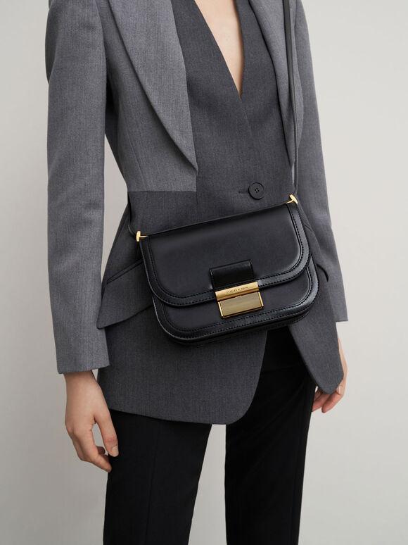 Charlot Crossbody Bag, Black, hi-res