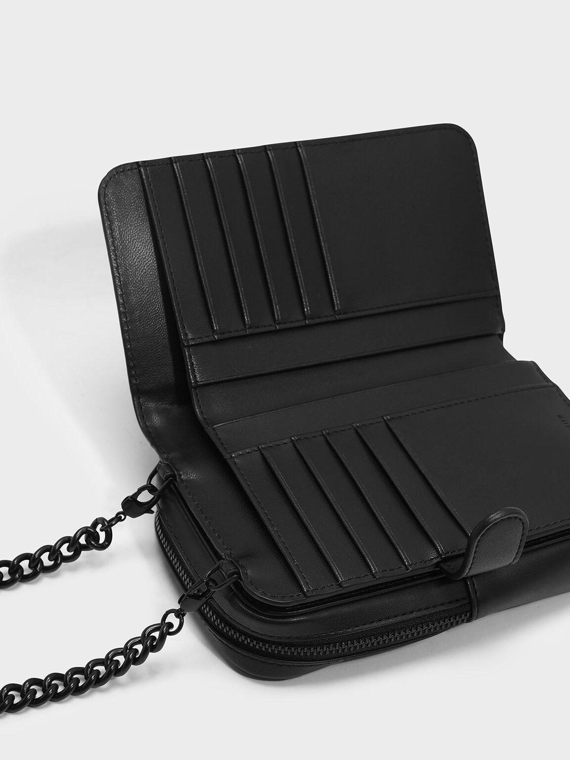Mini Pouch, Black, hi-res