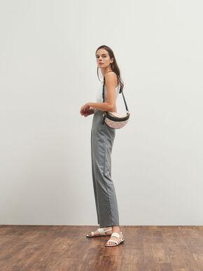 Half-Moon Crossbody Bag, Light Pink, hi-res