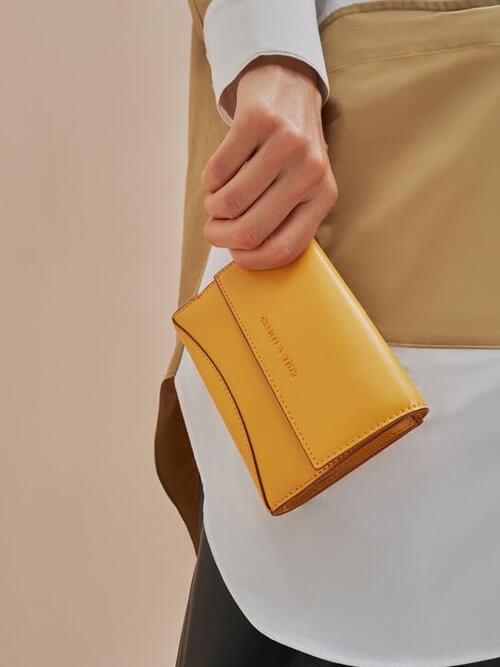 กระเป๋าสตางค์ Stone-Embellished Long Wallet